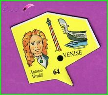 Magnet Le Gaulois Les Ville Du Monde N° 64 VENISE Italie Antonio Vivaldi - Magnets