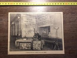 ANNEES 20/30 L EXPOSITION DU RADIO CLUB DE LILLE RUE EDOUARD DELESALLE - Collections