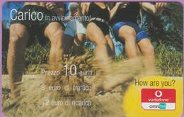 Télécarte Prépayée °° Italie - Carico - Prezzo 10 Euro - RV - Italie