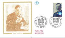 FDC Louis Pasteur (39 Dole 18/02/1995) - FDC