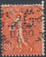 FRANCE - Perfin 'SG ' - France
