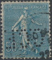 FRANCE - Perfin 'C.C.F. ' - France
