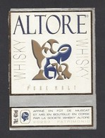 Etiquette De Whisky  -  Altore  à Patrimonio   Corse (20) - Etiquettes