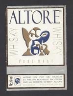 Etiquette De Whisky  -  Altore  à Patrimonio   Corse (20) - Whisky