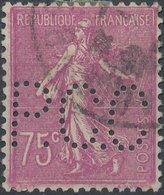 FRANCE - Perfin 'P.C.C. ' - France