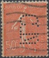 FRANCE - Perfin 'C.TN ' - France