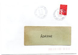 LOT & GARONNE - Dépt N° 47 = FOURQUES 2001 = PETIT BUREAU = CACHET A9 - Postmark Collection (Covers)