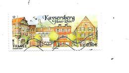 Série Touristique Kaysersberg 5243 Oblitéré 2018 - France