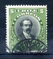 1911 CILE N.99 USATO - Chile