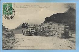 Le Claux & Le Falgoux (15) Le Puy Mary Le Car Alpin Au Pas De Peyrol 2 Scans - Autres Communes