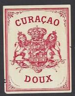 Etiquette De  Curaçao Doux - Etiquettes
