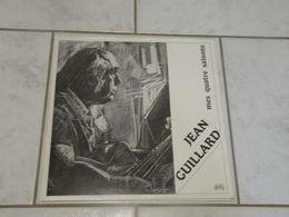 Jean Guillard, Mes Quatre Saisons, Dessin Gombaud Alain - 1984 Dédicacé - (Titres Sur Photos) - Vinyle 33 T LP - Limitierte Auflagen