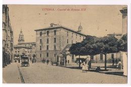 Cartolina - Postcard / Viaggiata - Sent / Vitoria – Cuartel De Alfonso XIII - Spagna
