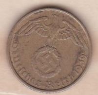 5 Reichspfennig 1939 F (STUTGART) . Bronze-aluminium - [ 4] 1933-1945 : Third Reich