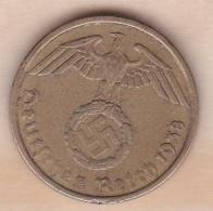 5 Reichspfennig 1938 G (KARLSRUHE)   . Bronze-aluminium - [ 4] 1933-1945 : Third Reich