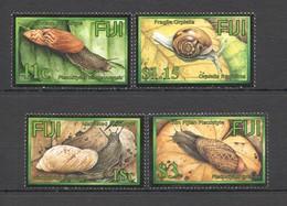 Y1093 FIJI FAUNA MOLLUSKS LAND SNAILS #1063-66 1SET MNH - Crustaceans