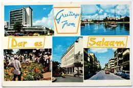 #434   Views Of Dar Es Salaam - TANZANIA - Used Postcard - Tanzania