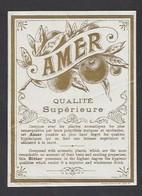Etiquette D'Amer -  Qualité Supérieure - Etiquettes