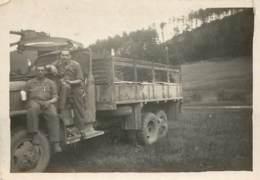 PHOTO BADEN-BADEN - PENTECOTE 45 - GMC 451.416 - Krieg, Militär