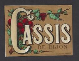 Etiquette De Cassis De Dijon - Etiquettes