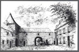 CP -Loncin, Gravure De Guy Soomers-Le Château, Cour Intérieure.circulé+timbre 1988 - Ans