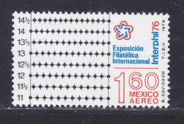 MEXIQUE AERIENS N°  409 ** MNH Neuf Sans Charnière, TB (D7888) Esposition Philatélique Interphil - 1976 - Mexique
