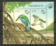 Y1105 1995 FIJI FAUNA BIRDS JAKARTA !!! MICHEL 10 EURO !!! 1BL MNH - Birds