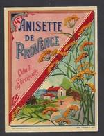 Etiquette D'Anisette De Provence - Etiquettes