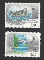 Finnland, 1986, Mi.-Nr. 985-986, Gestempelt - Finnland