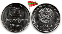 Transnistria - 1 Rouble 2018 (25 Years Of Eximbank - UNC - 50,000Ex.) - Moldova