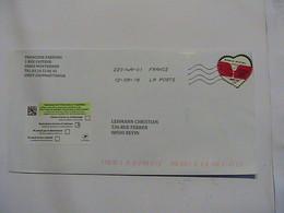 2703 Enveloppe Sonia Rykel Autocollant - France