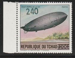 TCHAD - N°506 N ** (1987-88) Timbre Surchargée - Tschad (1960-...)