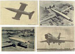 LOT 8 - Photo Journal Collée Sur Carton - AVION Nord 2500 Mystère IV N LOOKED AIR FRANCE TRIDENT KLM ROYAL DUTCH CONVAIR - Avions