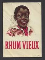 Etiquette De Rhum Vieux - Etiquettes