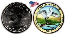 USA - Quarter Dollar - 2018 P (Cumberland Island - Colorée) - Federal Issues