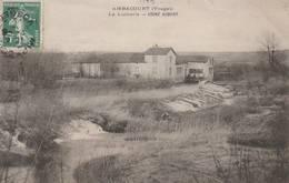 CPA:AMBACOURT (88) LA LUTHERIE USINE AUBERT..ÉCRITE - Francia