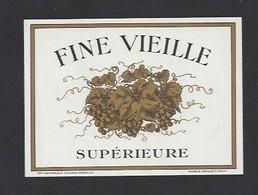 Etiquette De Fine Vieille Supérieure - Etiquettes