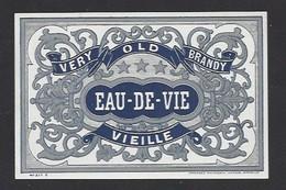 Etiquette D' Eau De Vie Vieille - Etiquettes