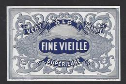 Etiquette De Fine Vieille - Etiquettes