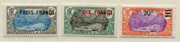 10338  OCEANIE  N°66/8**     Type C Surchargés  1926-27  TB/TTB - Oceania (1892-1958)
