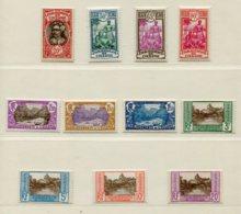10339  OCEANIE  N°69/79**     Série   1927-30  TB/TTB - Oceania (1892-1958)