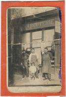 Gard : St Jean Du Gard, Une Charcuterie (A Situer...)Rare Carte-Photo, Voir Scans... - Saint-Jean-du-Gard