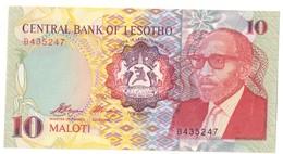 Lesotho 10 Maloti 1990 UNC *V* - Lesoto
