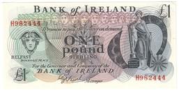 Bank Of Ireland 1 Pound 1980 UNC- *V* - Noord-Ierland