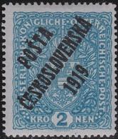 Tsjechoslowakije    .       Yvert  58   .      *       .        Ongebruikt Met Plakker  .   /   .   Mint Hinged - Tsjechoslowakije