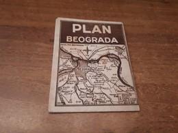 Old Maps - Serbia, Beograd - Cartes Géographiques