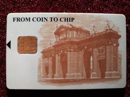 RRR CASH CARD / TARJETA DE ESPAÑA DE LA FABRICA DE MONEDA Y TIMBRE / RARA - Espagne