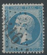 Lot N°45658  N°22, Oblit GC 3516 Benac, Hautes-Pyrénées (63), Ind 22 Ou St-Avold, Moselle (55), Ind 4 - 1862 Napoleon III