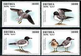 ERITREA 1996** - Uccelli / Birds - 4 Val. MNH, Come Da Scansione. - Uccelli