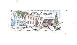 """Salon Philatélique De Printemps """" Sorgues 2018 """" Oblitéré - France"""